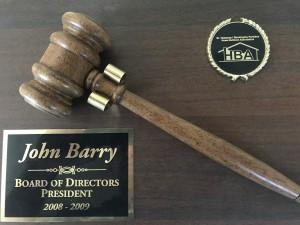 Home builder association Board of directors President